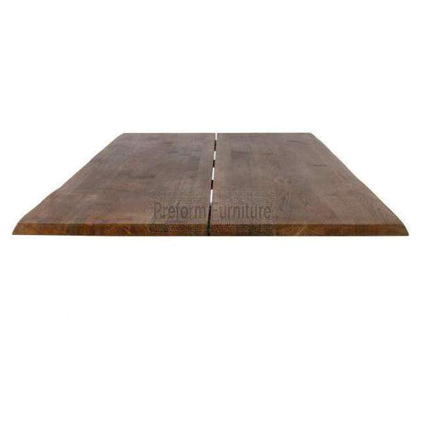 Curve Plankeplade Røget Eg