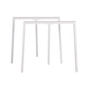Hvide plankebordsben