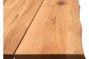 True plankebord i eg natur