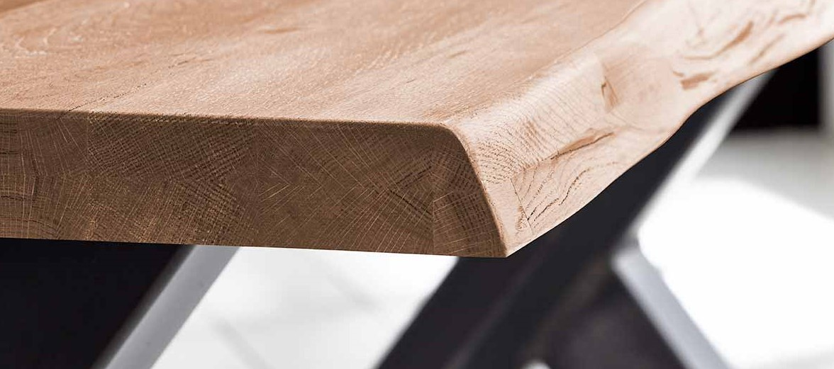 behandling af bordplade med sæbespåner